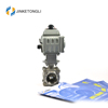 JKTLEB138 threaded electric actuated hydraulic ball valve