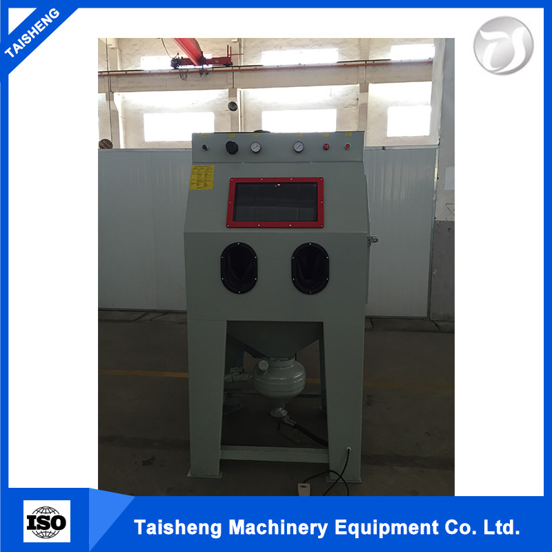 drum type shot blasting machine / portable sandblasting used
