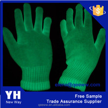 2015 fashion wholesale party gloves glow in the dark
