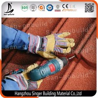 San-gobuild High End System Stone Coated Steel Roofing Tiles House Tile Accessories Buildings,House shed roof shingles