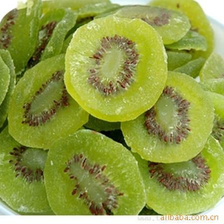 supply top quality Chinese Yellow Sweet Dried Fruit, dried Kiwi Slice