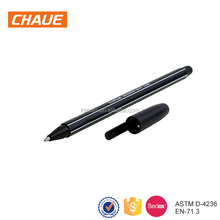 2018 Cheap Promotional 1.0mm Black Economic Plastic Ballpoint Pen