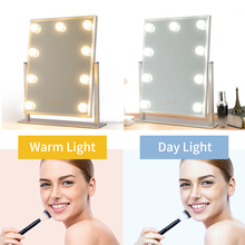 Hollywood Lighted Vanity Mirror with Dimmable LED Bulbs Touch Control, Hollywood Style Makeup Cosmetic Mirrors with Lights