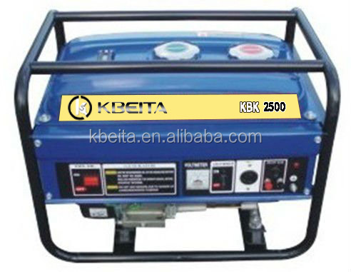 gasoline start kerosene run generator set for home