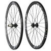 China 700C road 38mm clincher disc brake powerway M81 bicycle hub carbon wheels fit for cyclocross bike