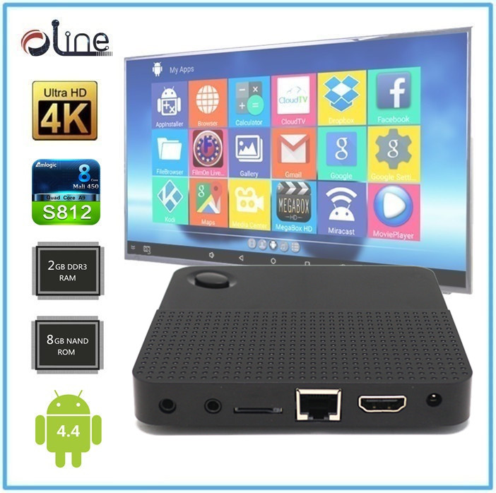 Watch Olympic Amlogic S812 CPU 2GB DDR3 RAM m9 Android stb all in one tv box