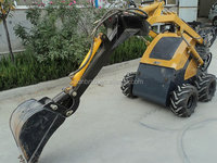 New Style good Sauer hydraulic pump motor BOBCAT CASE auger blade sweeper mini skid steer loader