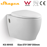 KS-WH05 china sanitary ware bathroom, wash down CE wall hung lavatory toilet brands