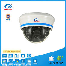 hot selling megapixel vivid image wifi dome network camera cctv