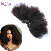 Isabel Hair new products 6A top quality Brazilian afro kinky human hair unprocessed brazilian afro kinky hair extensions