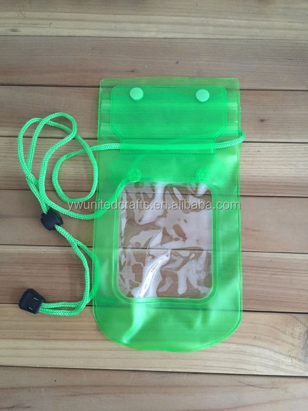 PVC Waterproof Swimming Cell Phone Pouch Bag,Waterproof Smartphone Pouch