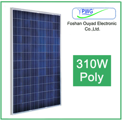 310w hot solar panel top manufacturer in China with high efficiency