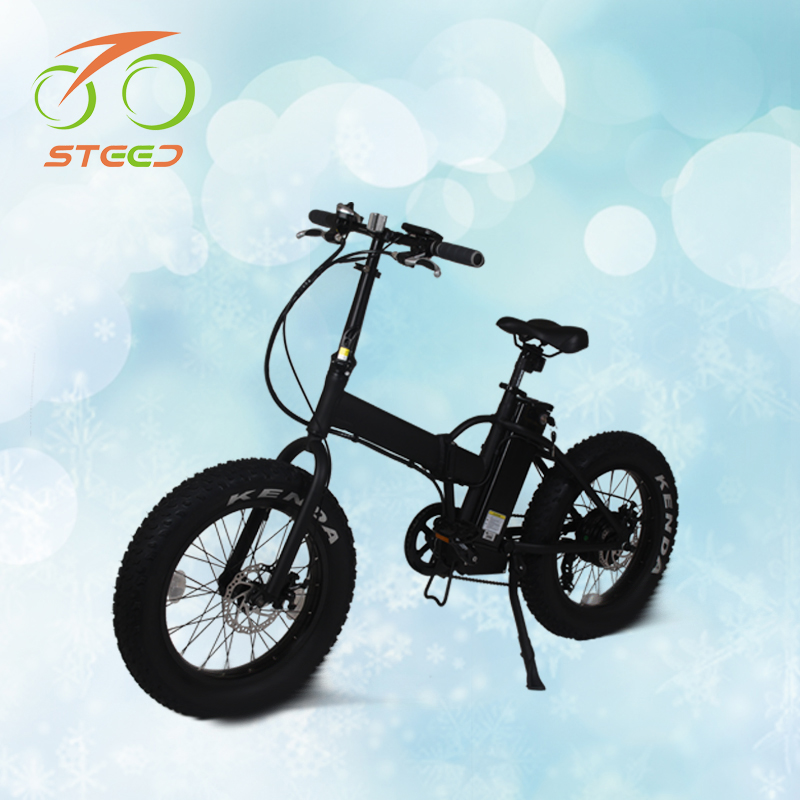 Adult used foldable electric dirt bike 500w hub motor from factory