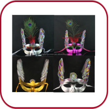 Custom carnival mask OEM party mask halloween mask ODM leather mask female mask PGAC-0726