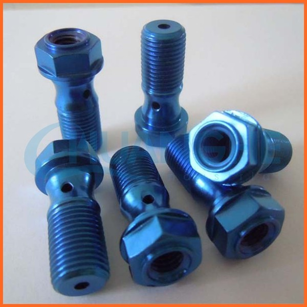 Chuanghe supplier conical head titanium bolt