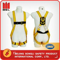 China New cheap construction safety belt