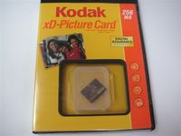 Kodak XD Picture Card Retail Packing / Memory Stick Pro / Memory Stick Pro Duo / Compact Flash / SDMC / Mini SD / SD Cards