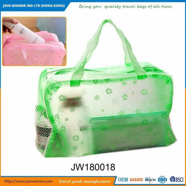 Regular Style Transparent Makeup Bag With Ce Certification