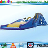 fantastic water slide inflatable,hot sale water slide for adult,water entertainment with long slide and slip