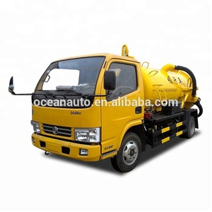 Manual Transmission Dongfeng Small Cheap 4x2 3000L Widely Vacuum Sewage Suction Truck