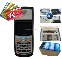 Portable fare collection POS with thermal printer accept card and cash payment