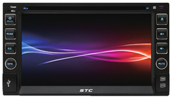 Cheap 6.2inch Touch screen Car DVD Player STC-6017DVD
