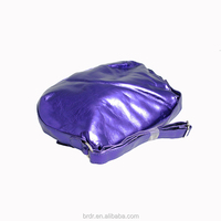 Hot Selling Factory Cheap Price Bulk Wholesale Shiny Purple Zebra Pattern Durable Ladies Handbag