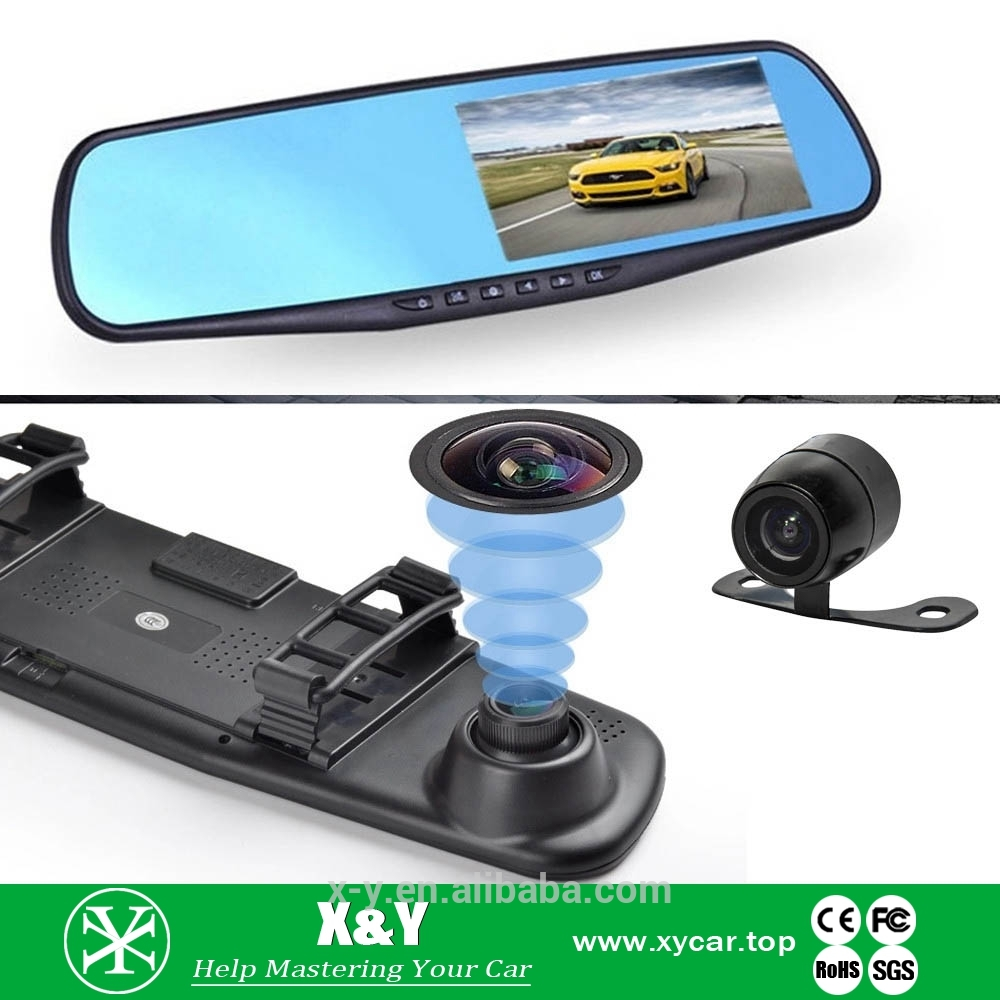 Dual Lens Car hard drive mini dvr With Good After-sale Service