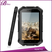 7inch 1280*800 IPS Rear Camera 13.0MP RAM 2GB ROM 16GB Android 4.4 MTK8732 Quad Core GPS NFC rugged tablet pc 4g lte