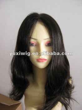 hot selling instock lace front wig virgin human hair wig