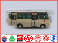 China bus manufacture direct sale for 6.6m 28 seater used cng bus sale in uae