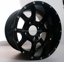 12 inches atv/utv/golf cart aluminum black alloy wheel