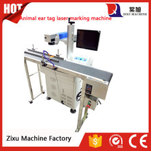 20W Fiber Laser Cattle Ear Tag Printing Machines