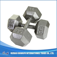 Hot Sale Hand Weight Exercise Feel good painting hex dumbbell
