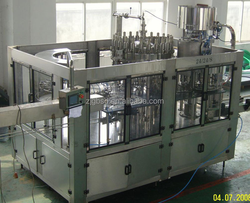 Juce filling machine for fruit juice making factory