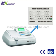 China Supplier blood analysis system MHS-88 semi auto analyzer biochemistry