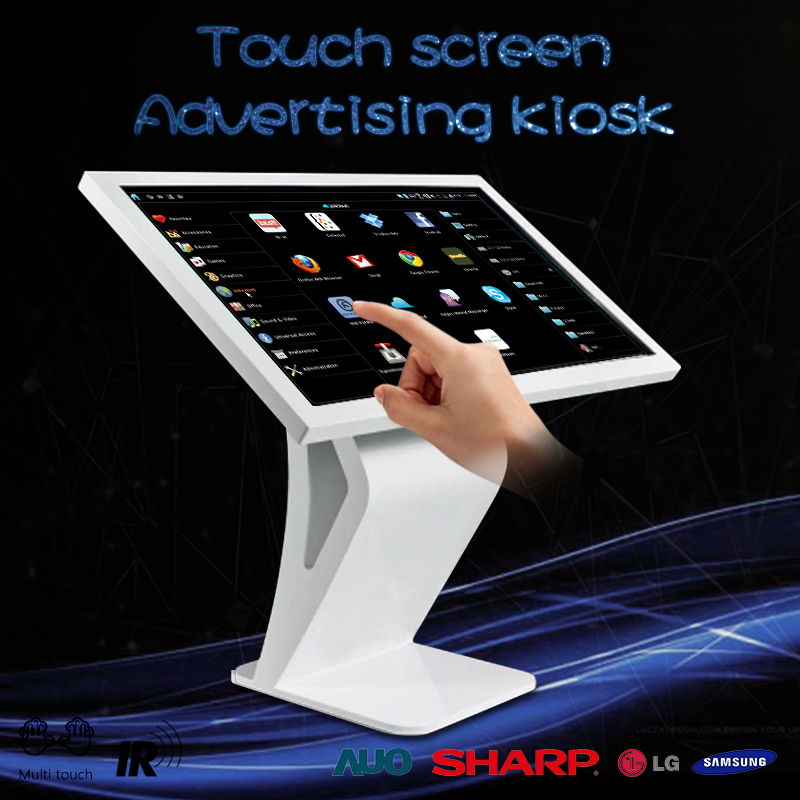 32'' lcd advertising display panel touch screen lcd ads monitor hotel