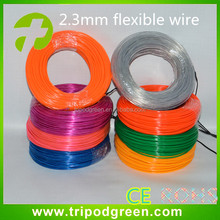 High Quality Multi Color Cheap Flat EL Wire with Inverter