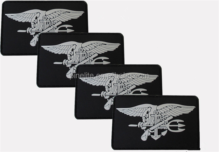 Custom Embroidered Patch, 3D Embroidery Patch With Eagle Logo, Embroidery Patch