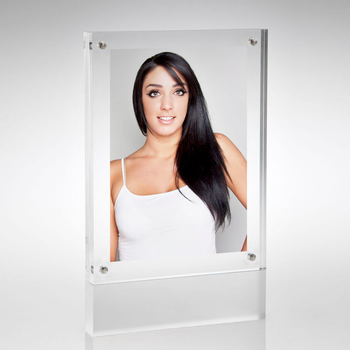 5x7 customized acrylic magnetic photo frame acrylic picture frame