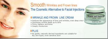 Wrinkle And Frown Line Cream