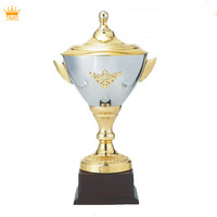 2016 wholesale trophy award cups metal sports silver trophy