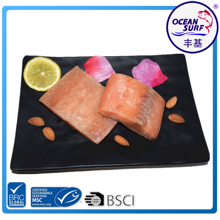 Frozen Iqf Pink Salmon Portion / Salmon Fish Fillet