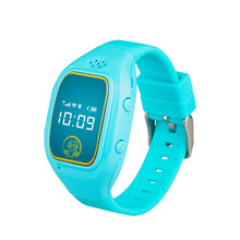 2018 trending products cheap price 0.66 inch gps tracker kids mobile watch cell hand phone