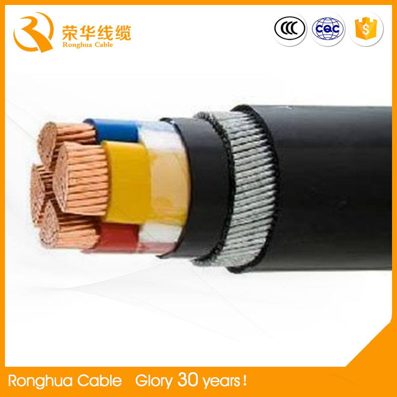Underground CU AL Power cable NYY N2YY multi cores lighting cable
