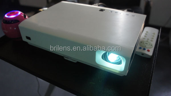 high brightness 10000 lumens full HD 1080P outdoor building projector