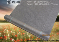 black plastic ground cover/woven geotextile/hot products/agricultural mulch film