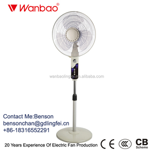 "Remote Control 16"" Electric Pedestal Table Wall Stand Fan for Wholesale"
