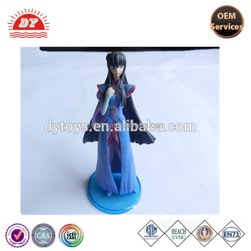 ICTI certificated custom made small dashboard plastic fairy figurines