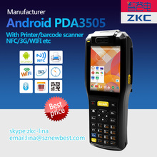 Cheapest 3.5 inch android device ,android pos terminal with printer, order booking pda